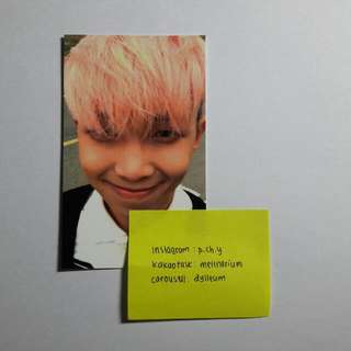 BTS HYYH Pt. 2 Photocard (Rap Monster)