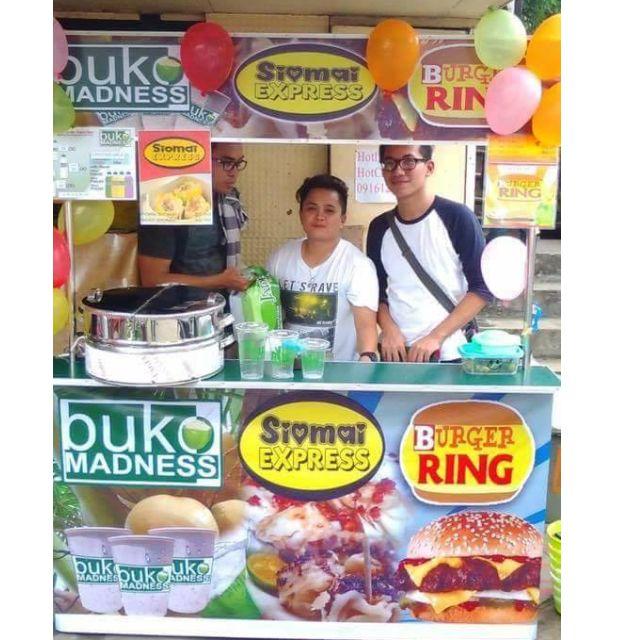 3in1 Bentelog Corner Food Cart
