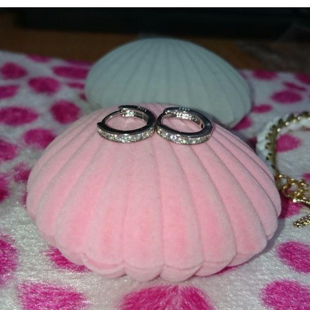 特價925純銀耳釘氣質女韓國流行飾品銀耳環小耳扣耳圈耳墜耳飾防過敏