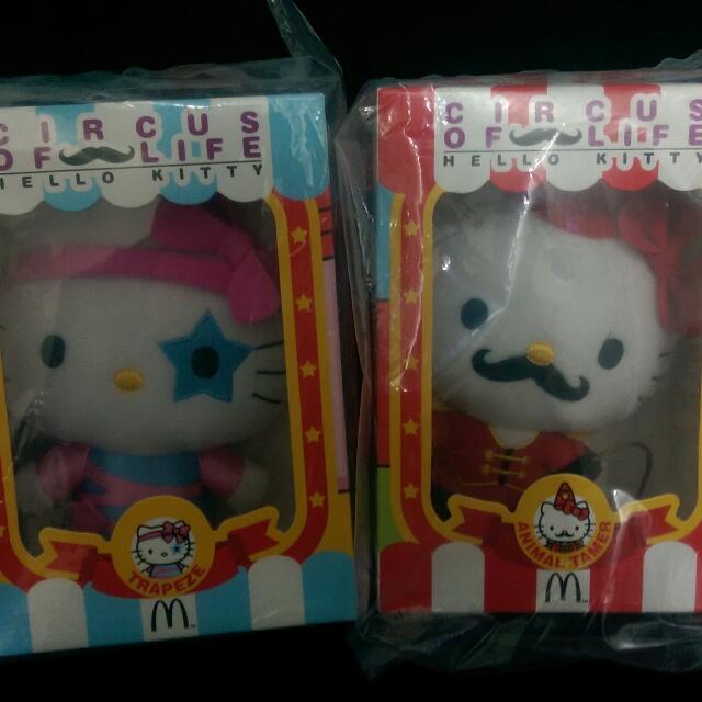 [售]麥當勞 哈囉 HELLO KITTY 兩隻200元 全新未拆!!
