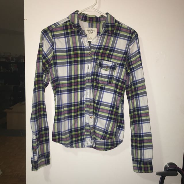 Abercrombie & Fitch Plaid Shirt
