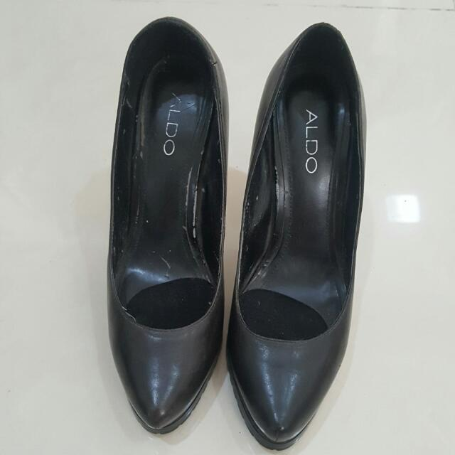 Reprice - Aldo Black Shoes Stilleto