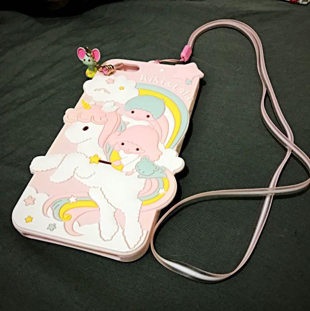 apple iphone 6/6plus+ kiki lala 雙子星 手機殼 軟殼