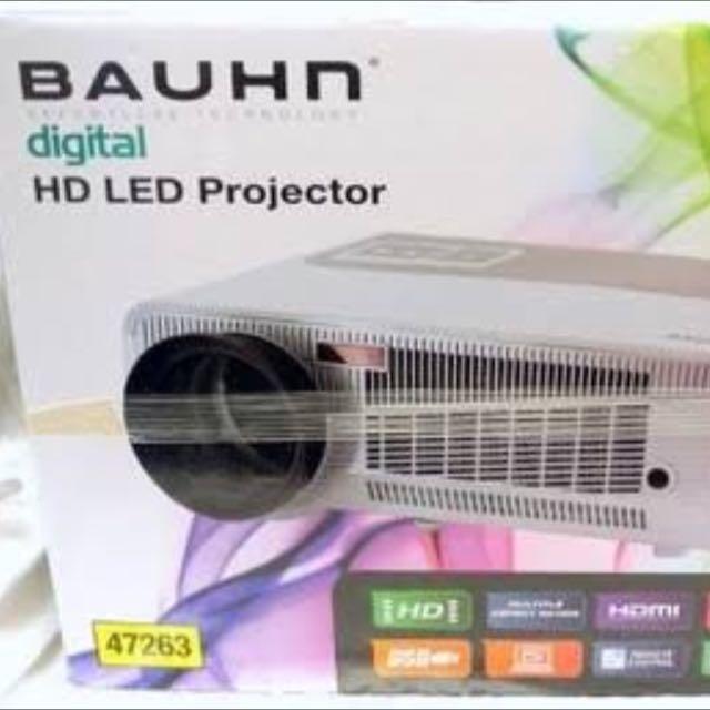 Bauhn digital HD Projector model 47263