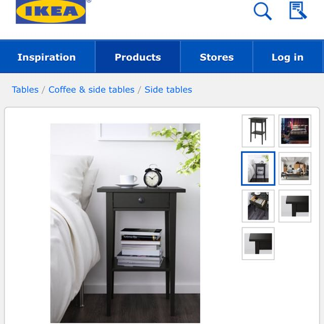 Bedside Table IKEA