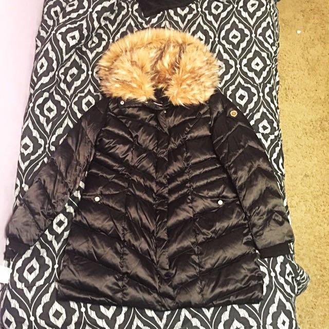 Black Steve Madden Winter Coat