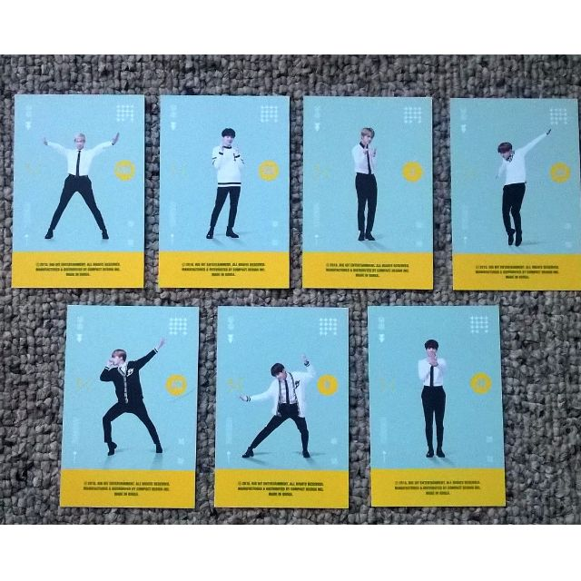 BTS 3rd Muster Playercards