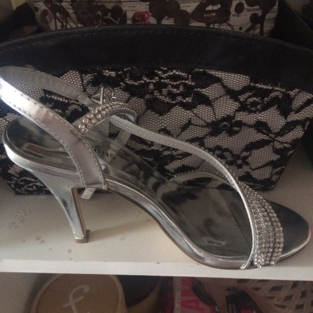 Call It Spring Silver Heels