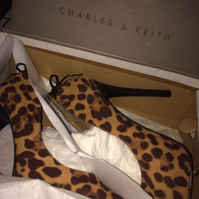 Charles & Keith Leopard Shoes