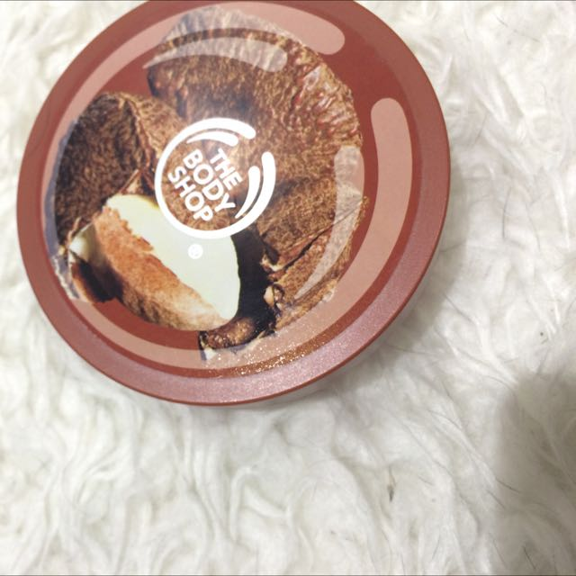 Cocoa butter body shop body butter