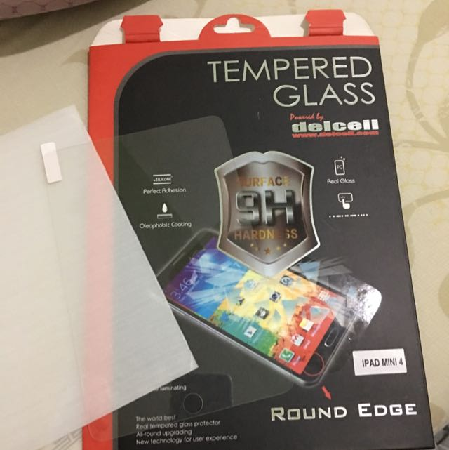 Delcell Tempered Glass Ipad Mini 2,3,4
