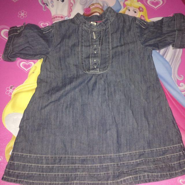 Denim Dress Zara Baby