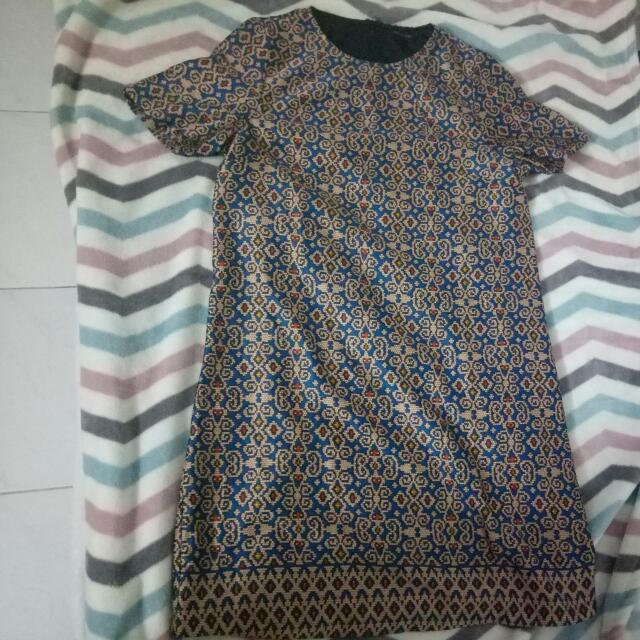 Dress Motif Etnik Topshop