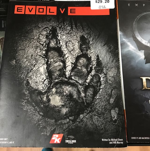 Evolve / Doable III Reaper Of Souls / LEGO Batsman 3 Beyond Gotham Strategy Guide