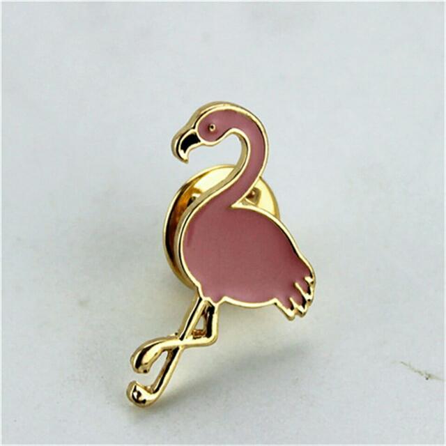 Flamingo Pin Up Brooch