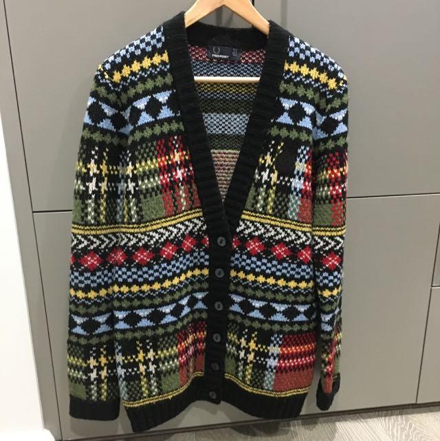 FredPerry chunky knitwear