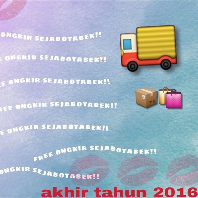 free ongkir SEJABOTABEK !!!