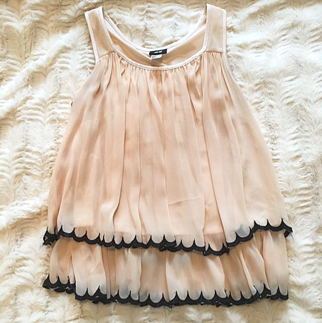 H&M Ruffled Top - Size 2