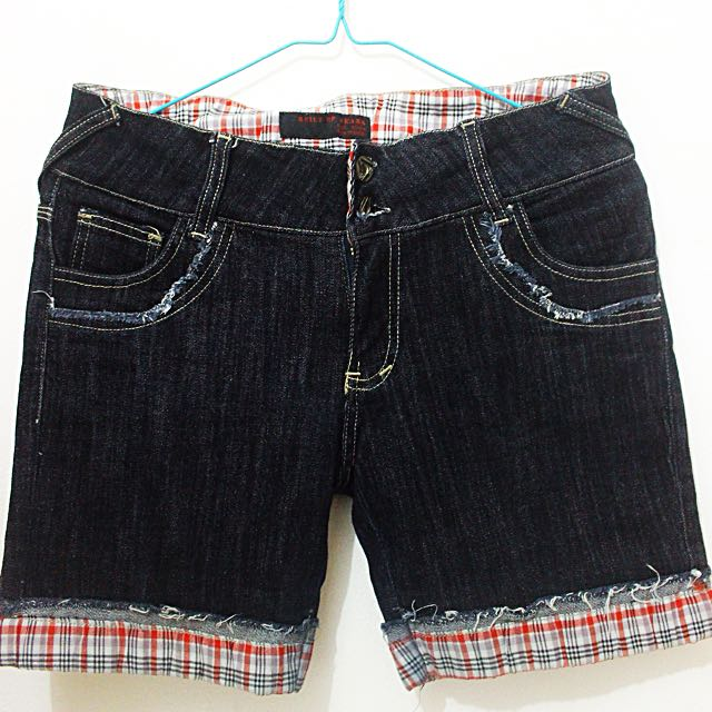 Hotpants Built Up Jeans