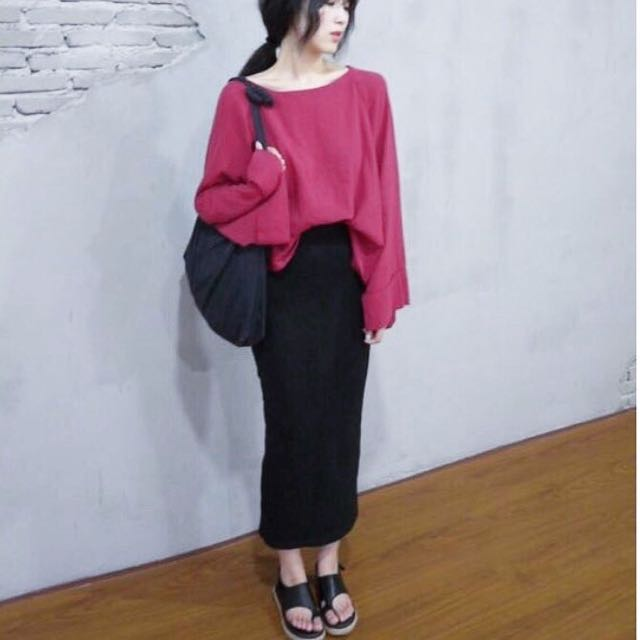 Ivvy Oversized Top