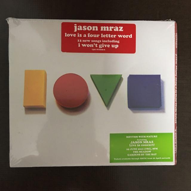 Jason Mraz Love Is A Four Letter Word Cd Music Media Cds Dvds