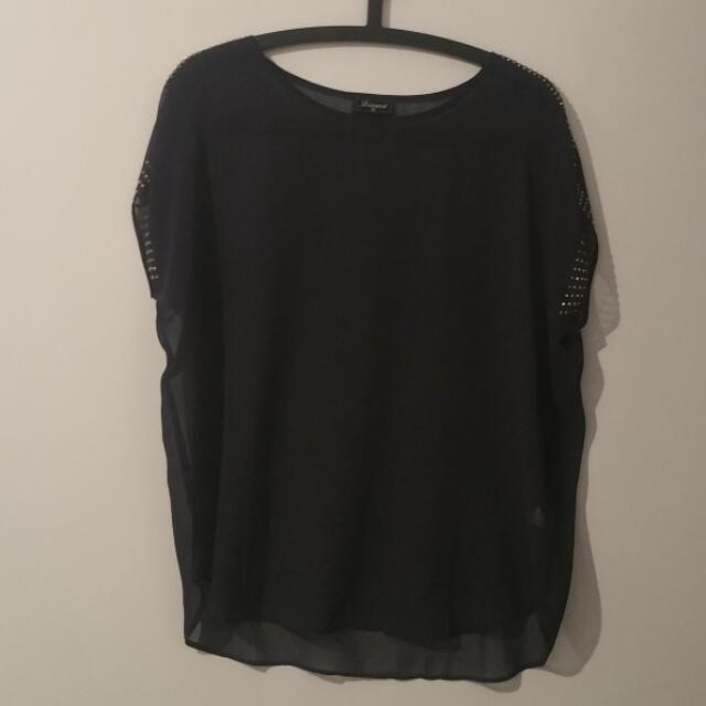 Jeanswest Sheer Blouse