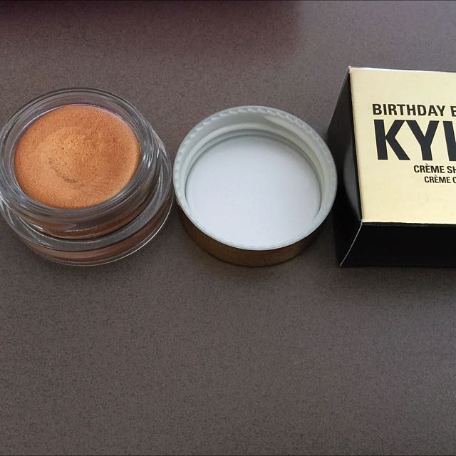 Kylie Jenner Copper Creme Eyeshadow Birthday Edition