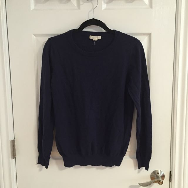 Navy Blue Sweater Forever 21