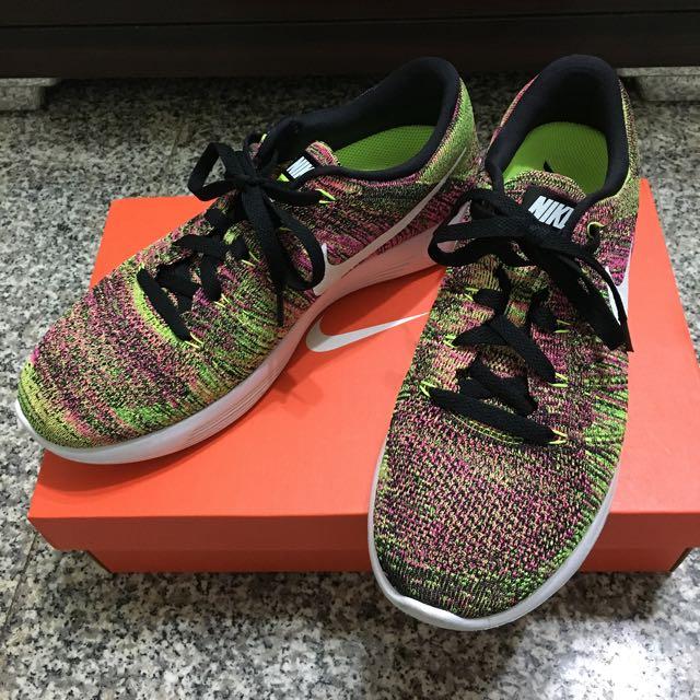 Nike Lunarlon 彩虹編織鞋