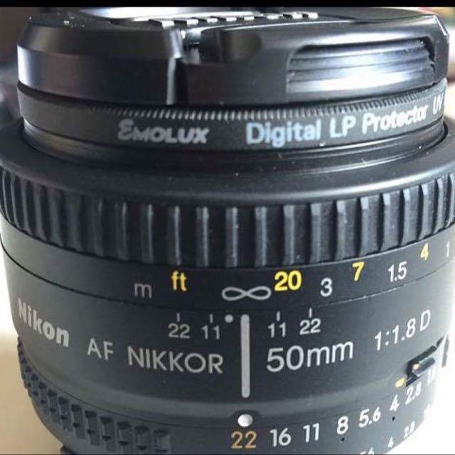Nikon AF Nikkor 50mm f/1.8D Prime