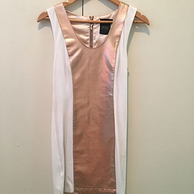 Pocketful Of Dreams: Metallic Dress Sz 8