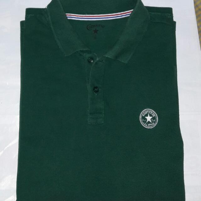 Polo Shirt Converse Green
