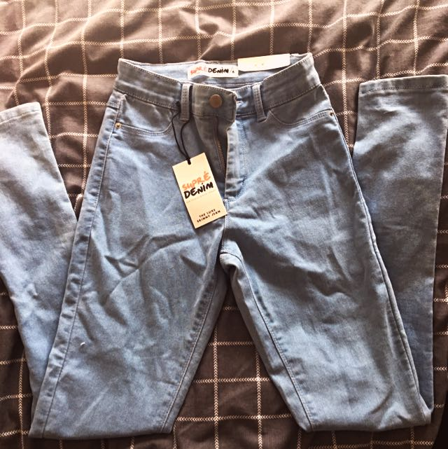 Powder Blue Skinny Jeans MAKE AN OFFER