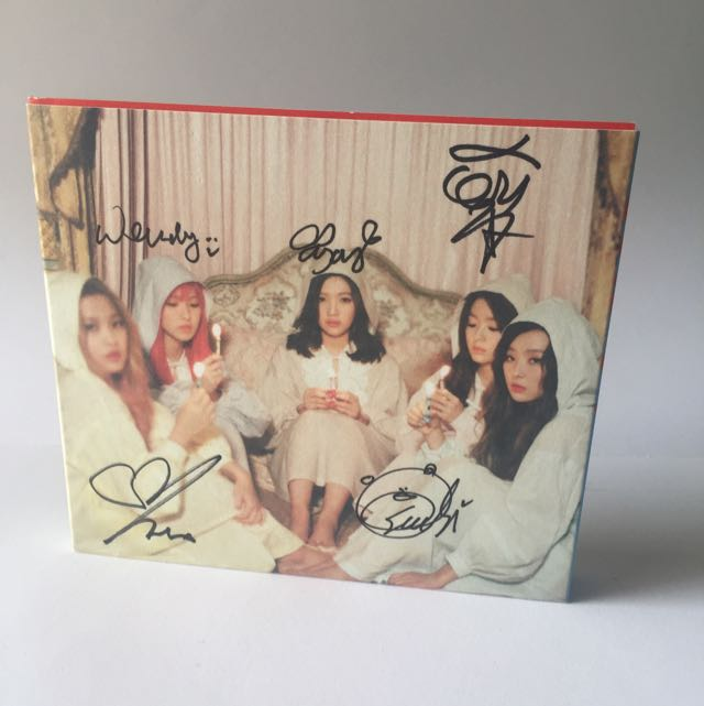 [SIGNED] RED VELVET 'THE VELVET' Original Album