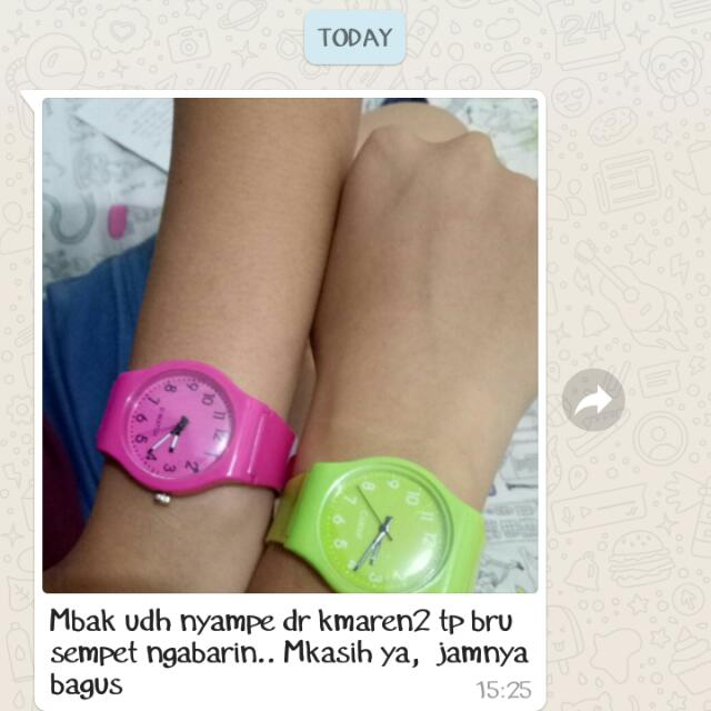 Testimony Colorful Watches