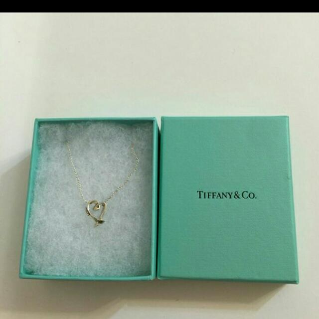 Tiffany畢卡索銀鏈