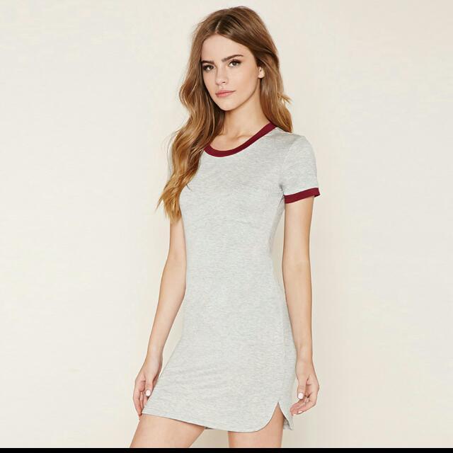 a5ac0c0875fa PENDING Tight Fitting T-shirt Dress