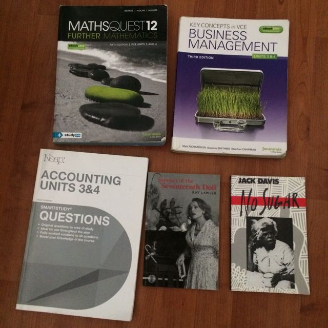 VCE Textbooks