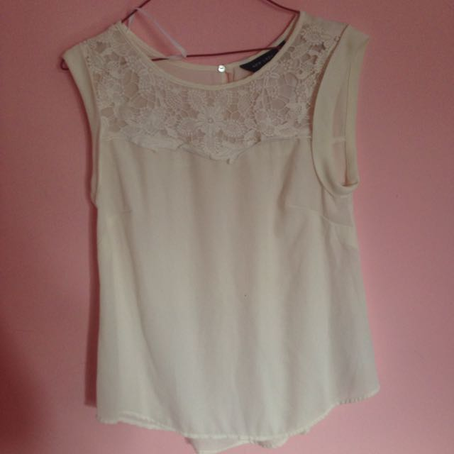 White Blouse By New Look