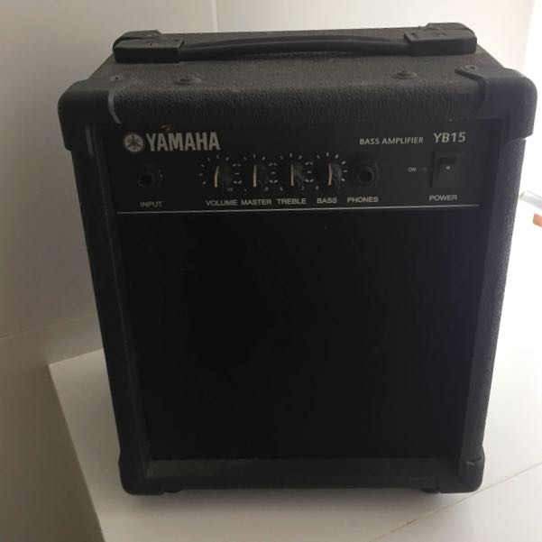 *RESERVED* Yamaha Bass Amplifier YB15