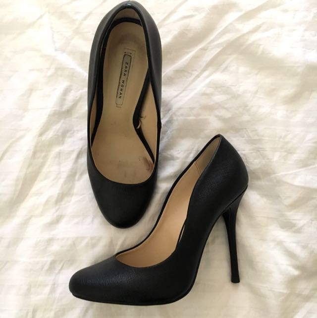 ZARA WOMAN Stiletto Court Heels Size 36