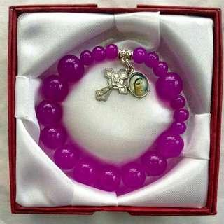 Glass Beads Bracelet Rosary
