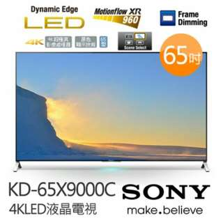 Sony Bravia 4K Uhd KD-65X9000C Superslim Android TV 65""