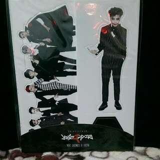 Block B 2014演唱會週邊 金有權 人型立牌