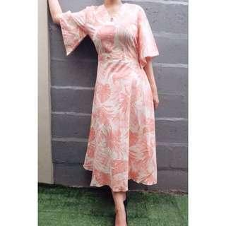 Flower Kimono Dress Morgana