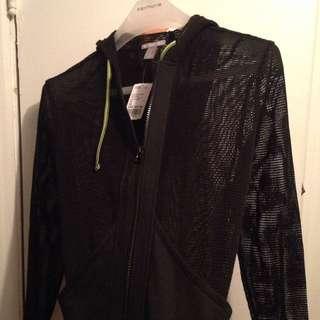 BNWT Mesh Gym Jacket