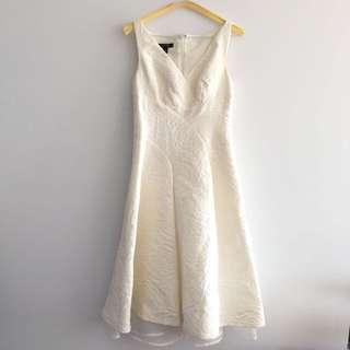 Gorgeous White Midi Dress Size 2 US
