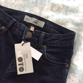 Topshop Jaime High Waist Ankle Grazer Jeans