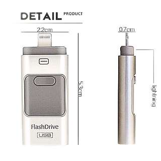 USB 128GB - 3-in-1 Thumb Drive $35