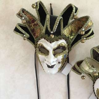 Masks, Either To Wear Or As An Ornamant